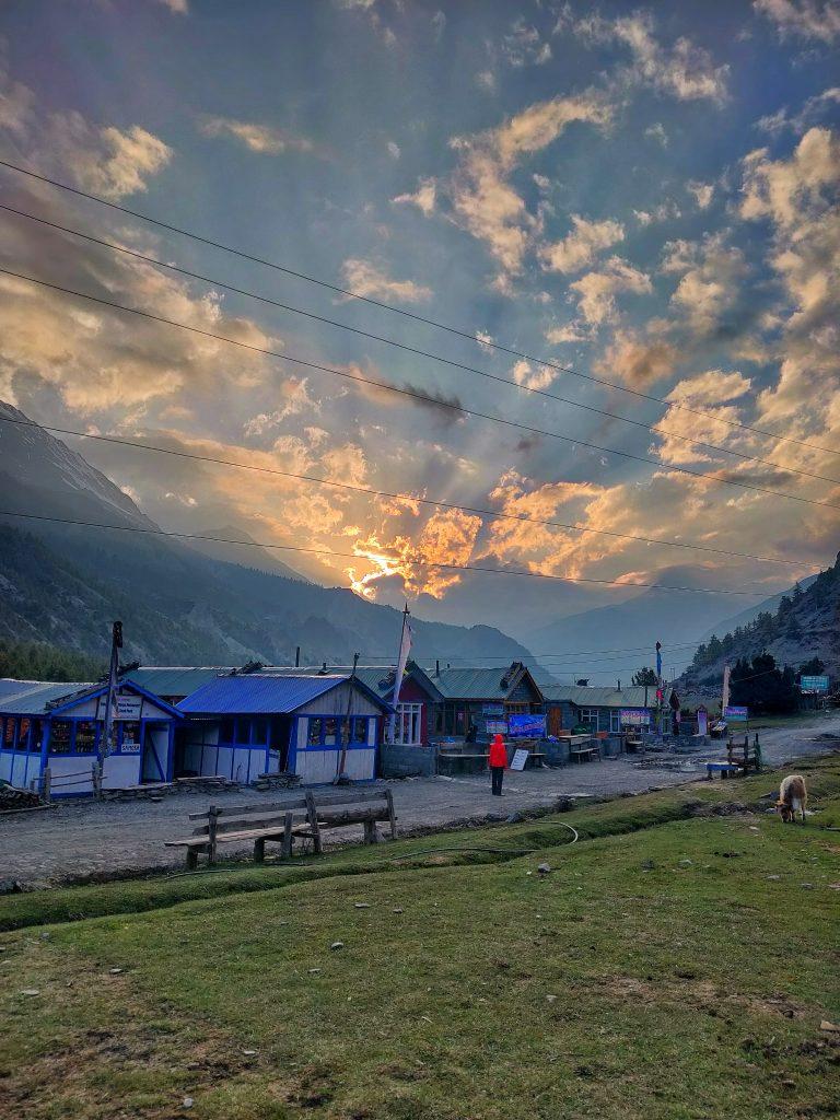 Bhraka in Nepal